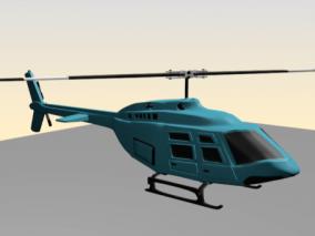 直升飞机cg模型