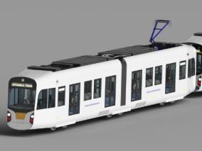 列车3d模型