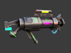 未来兵器3d模型