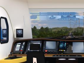 火车电车驾驶室max模型