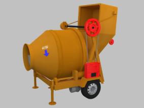 搅拌机cg模型