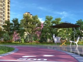 园区跑道max模型