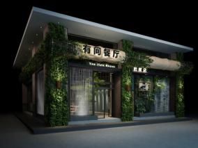 餐厅cg模型