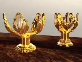 黄金花cg模型