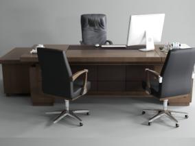 办公室cg模型