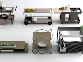 餐车cg模型