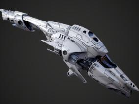 宇宙飞船cg模型
