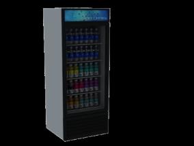 家电3d模型 冰箱3d模型