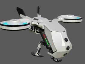 飞行器3D模型