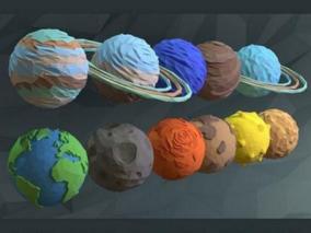 星球cg模型
