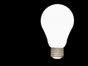 灯泡cg模型