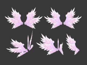 翅膀cg模型