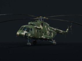 直升机cg模型