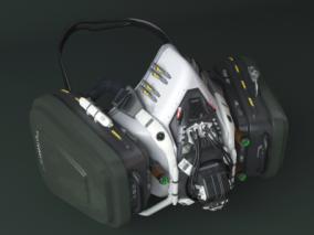 呼吸器cg模型