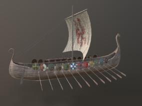古代木船3d模型