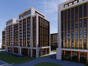 建筑cg模型