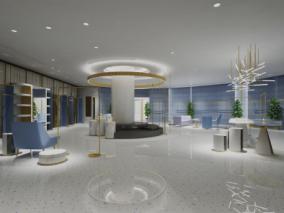 展厅cg模型