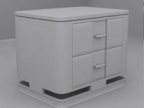柜子cg模型