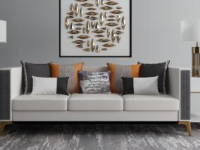 现代家具组合3d模型