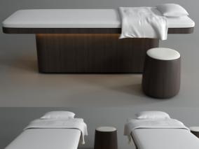 床具cg模型