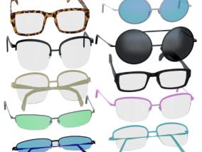 眼镜,近视,墨镜,老花眼镜,保护眼睛,镜架,钛合金铂金银品质
