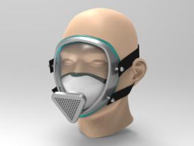 面具cg模型