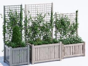 灌木cg模型
