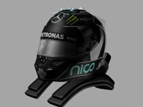 头盔cg模型