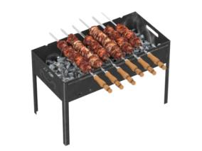 烧烤架 烧烤 烤箱 烧烤箱 烤肉 羊肉串 串 烤肉串 肉串
