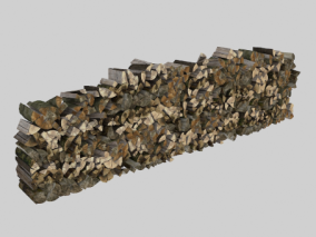 柴火堆 柴火 木头 木材 砍柴 木头堆 木材堆