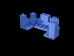 积木cg模型
