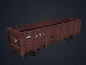 火车3d模型