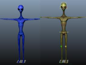 外星人cg模型