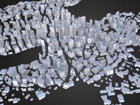 城市规划建筑群资源包