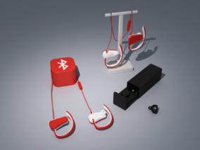 耳机cg模型