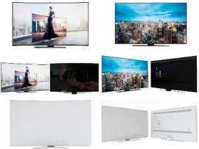 现代三星电视机显示器
