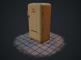 冰箱cg模型