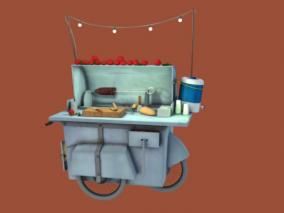 街头餐车 移动快餐车