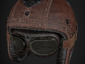 飞行员头盔