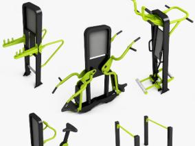 现代户外健身器材