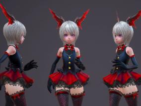 角色3d模型