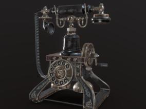复古老式电话机