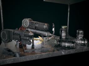 PBR-科幻蝙蝠侠武器组合