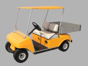 高尔夫车模型