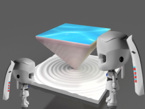 机器人cg模型