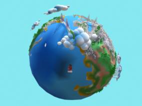科学仪器cg模型