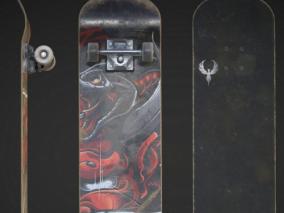 滑板 体育器材 嘻哈 街头