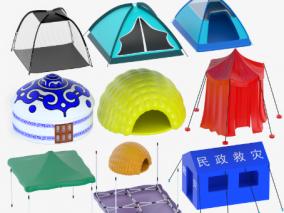 帐篷打包合集,遮阳棚,蒙古包,棚子,帐子