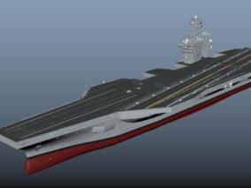 舰艇cg模型