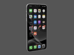 IPHONE12手机3D模型